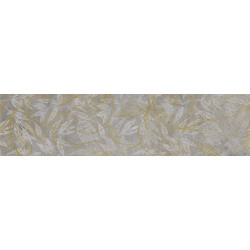Softcement Silver Decor Flower Mat 297x1197 Матовая