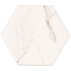 Vicenza white hex глянцевая
